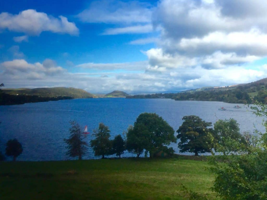 Howtown looking at Lake Ullswater from our Holiday Cottage near The Lake District