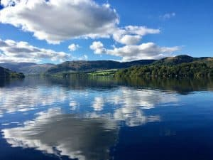 Ullswater Way in Lakeland from Dunkeld Cottage ia Lake District Cottage