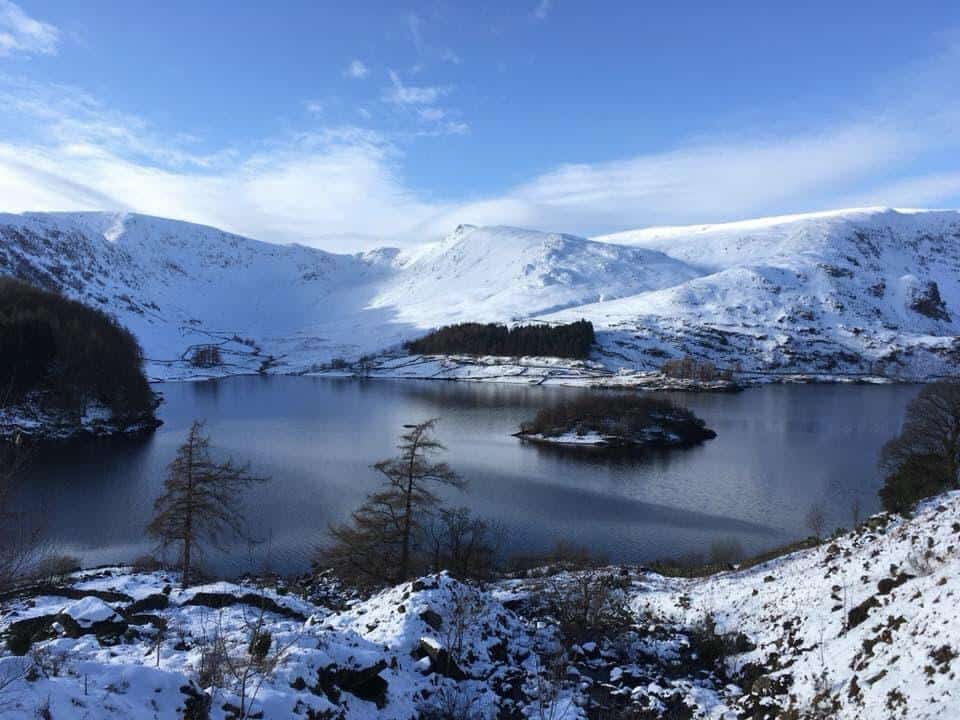 Haweswater Reservoir in the Lakes