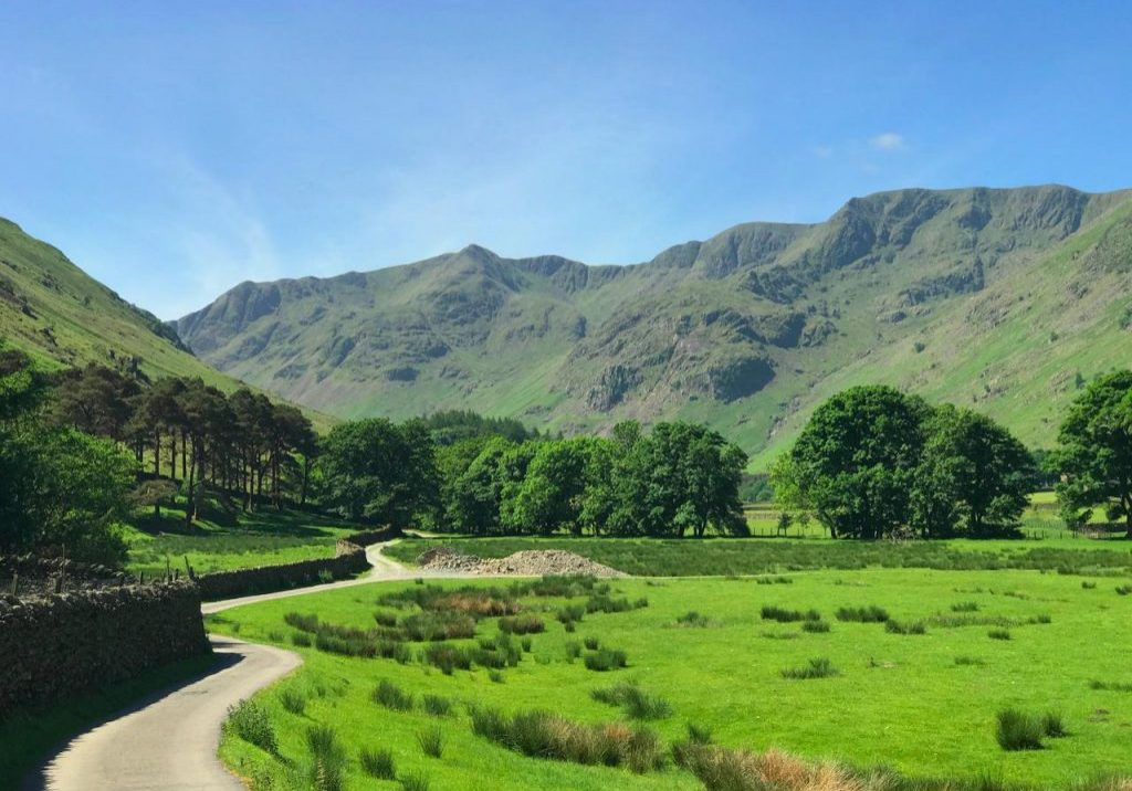 The route to Grisedale Tarn